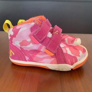PLAE Toddler Girls Max Camo High Top